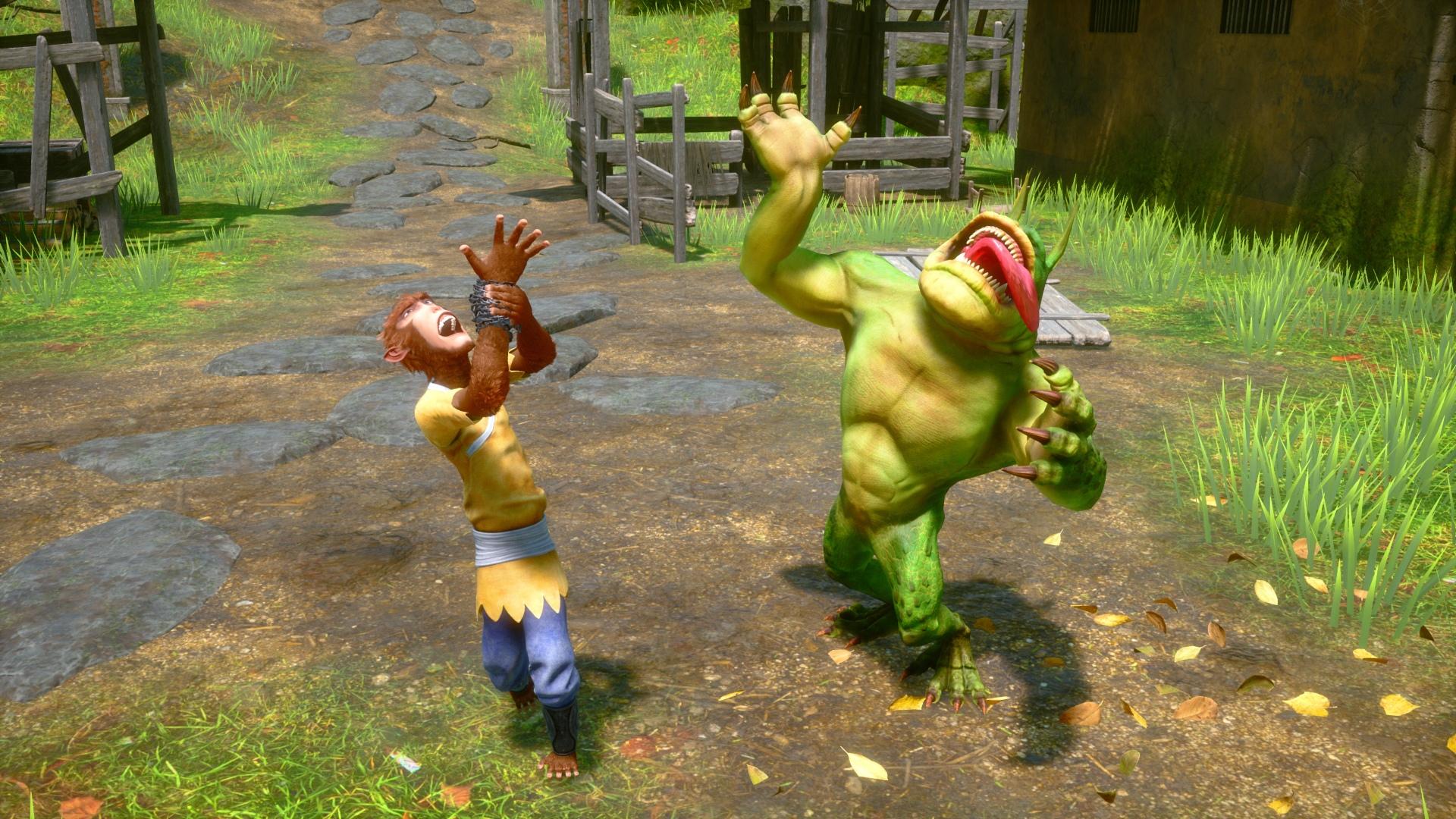 Resultado de imagem para monkey King: Hero is Back game