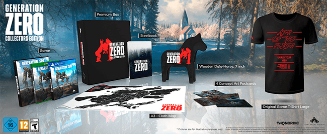 Mockup of the Collectors Edition